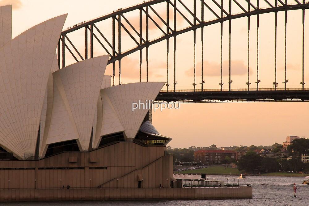 sydney sunset by philippou