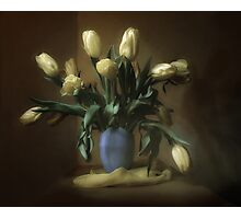 bouquet of tulips Photographic Print
