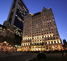 The Plaza, New York City by JoanneF24