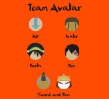 Team Avatar by Jaypz