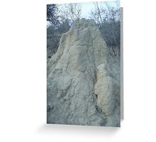 Termite Mound, Limpopo, South Africa Greeting Card