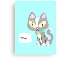 A Simple Kitten Canvas Print
