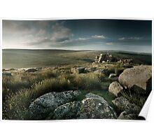 Black Tor, Dartmoor, Devon. Poster
