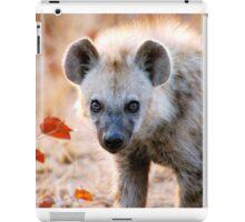 YEAH, I AM WATCHING YOU! - Spotted Hyaena - Crocuta crocuta iPad Case/Skin
