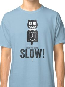 Cinema Obscura Series - Back to the future - Cat Clock Classic T-Shirt