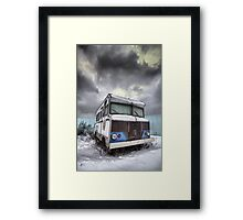 the relinquished resident....(Winnebago, Cherry Street & Front, Toronto, Ontario, Canada) Framed Print