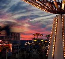 Sunset at the Hector Fair by Murph2010