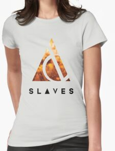 Slaves (US band) Triangle Womens Fitted T-Shirt