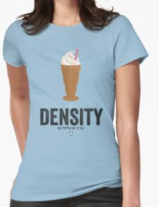 Cinema Obscura Series - Back to the future - Density Womens Fitted T-Shirt