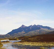 The Cuillin Hills on the Isle of Skye by Alex Cassels