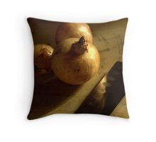 Onions ready for chopping  Throw Pillow