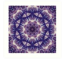 Purple flora 0 Art Print