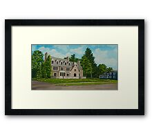Kappa Delta Rho North View Framed Print