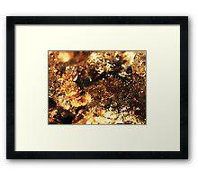 The Hidden Land – Lake Effervescence  Framed Print
