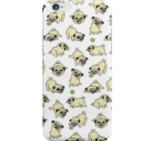 Playing Pugs iPhone Case/Skin