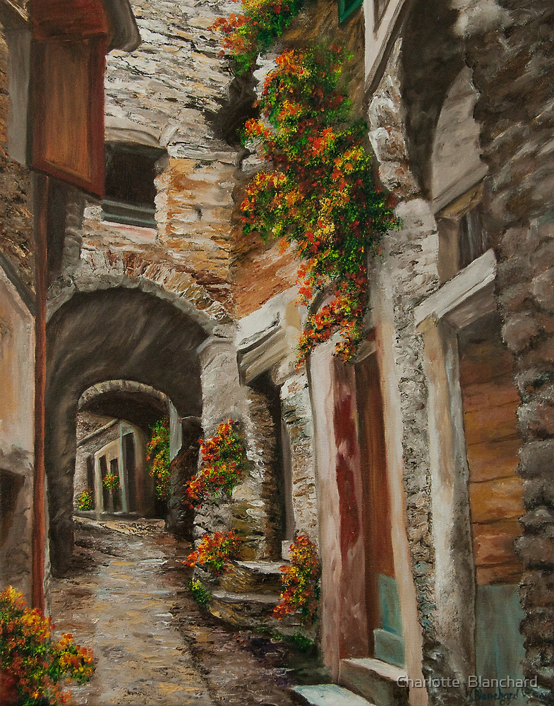 The Alleyway by Charlotte  Blanchard