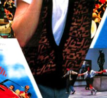 Japanese Ferris Bueller's Day Off  Sticker