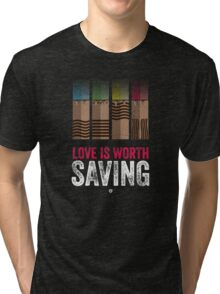 Cinema Obscura Series - Fifth Element - Stones Tri-blend T-Shirt