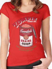 Canned Zombie Women's Fitted Scoop T-Shirt