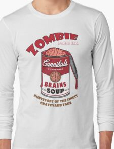 Canned Zombie Long Sleeve T-Shirt
