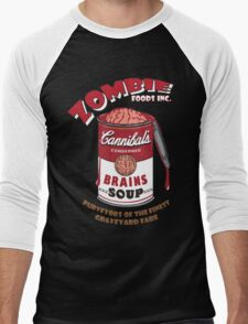 Canned Zombie Men's Baseball ¾ T-Shirt