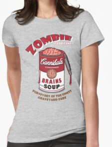 Canned Zombie Womens Fitted T-Shirt