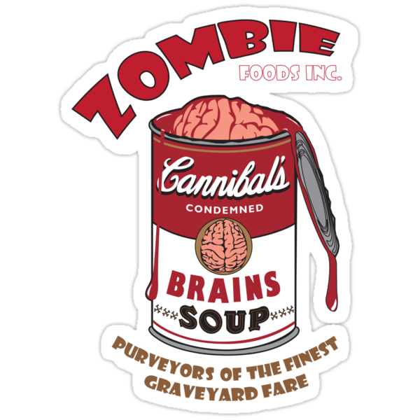 Canned Zombie by nicewon
