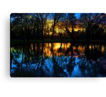 Beddington Park Pond Canvas Print