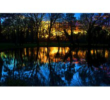 Beddington Park Pond Photographic Print