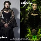 """Poison"" Before & After  by Adara Rosalie"