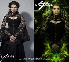 """""""Poison"""" Before & After  by Adara Rosalie"""