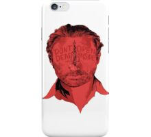 Rick Grimes Dont Open Dead inside iPhone Case/Skin