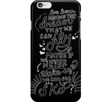 """""""Bulls In The Bronx"""" By Pierce The Veil Lyric Drawing iPhone Case/Skin"""