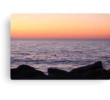 Sunrise appearance Canvas Print