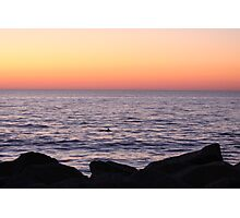 Sunrise appearance Photographic Print