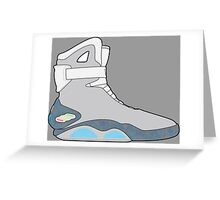 Nike Air Mag Greeting Card