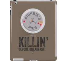 Cinema Obscura Series - Back to the future - Frisbie iPad Case/Skin