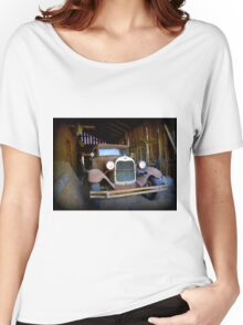 A Master Piece In The Garage Women's Relaxed Fit T-Shirt