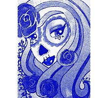 Catrina Azul  / Blue Catrina / Day of the Dead Photographic Print