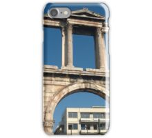 Hadrian's Arch, Athens, Greece iPhone Case/Skin