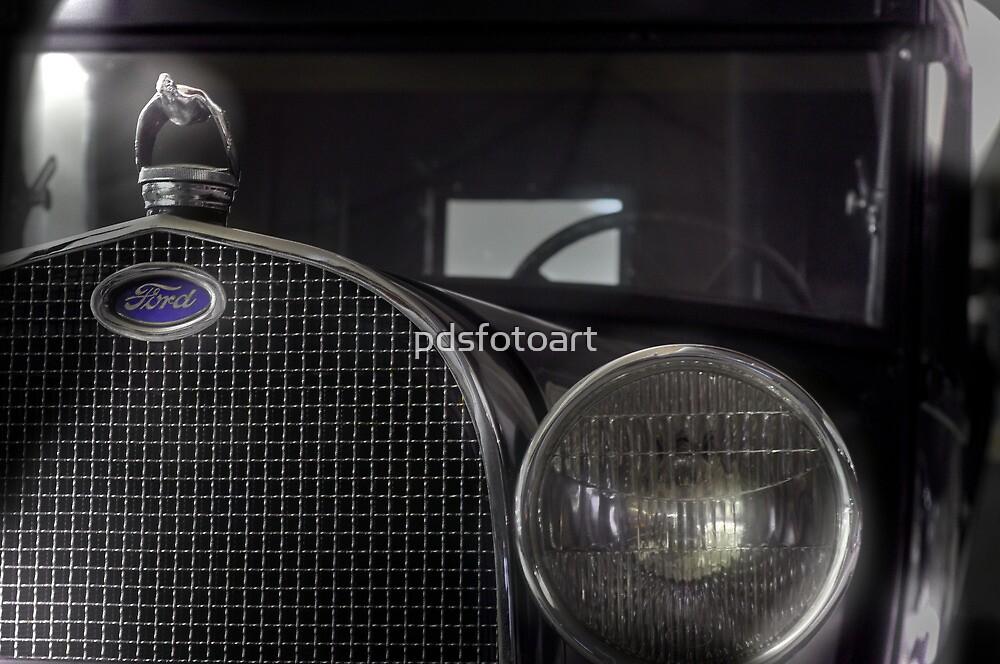 Model Ford A by pdsfotoart