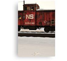 Train Bomb Canvas Print