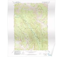 USGS Topo Map Oregon Jim White Ridge 280327 1993 24000 Poster