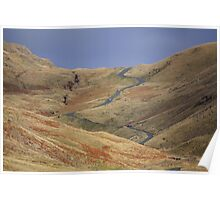 Wrynose Pass Poster
