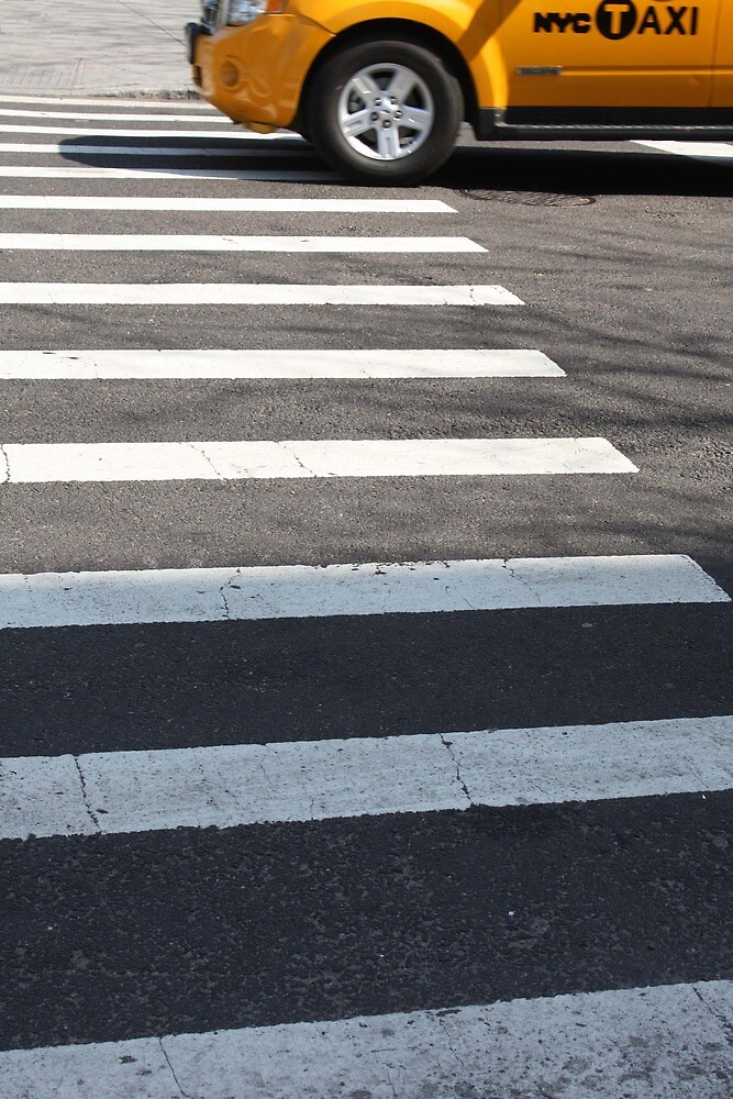 Crossing - Yellow by Samantha Jones