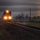 Early morning freight train by pdsfotoart