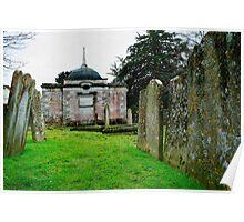 Nash Mausoleum, Farningham Poster