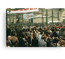 CG14 Covent Garden Beer Festival, London, 1975. Canvas Print