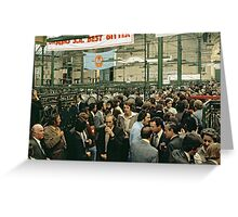 CG14 Covent Garden Beer Festival, London, 1975. Greeting Card