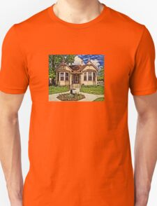 Historic House In Carson City Unisex T-Shirt